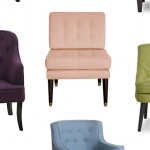 Home Look I Love: Colorful Accent Chairs under $300