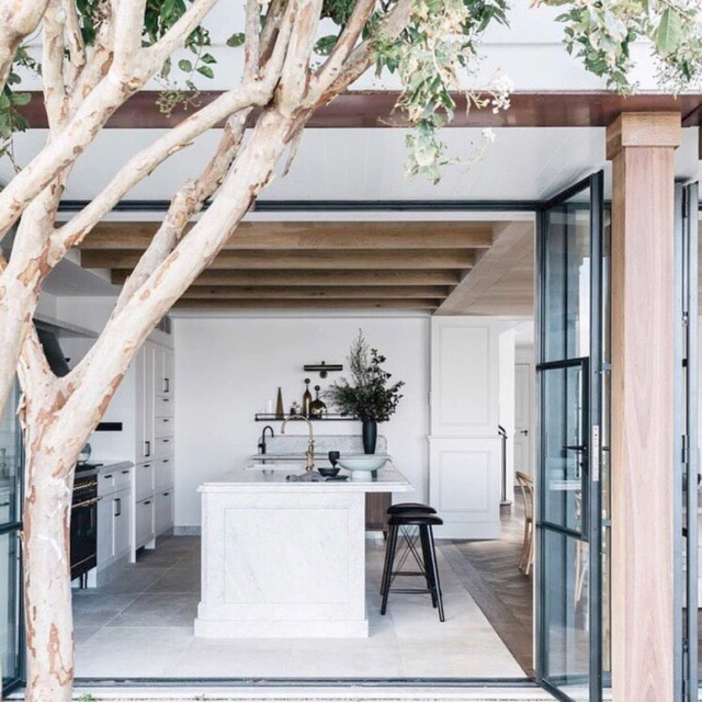 This stunning kitchen with amazing indooroutdoor flow is too gorgeoushellip